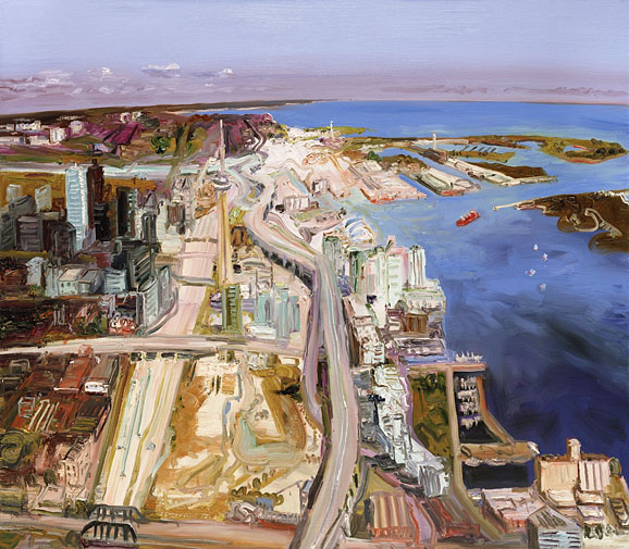 John Hartman: Toronto Harbour Looking East, 2005